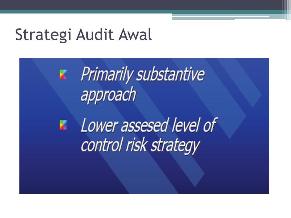 Strategi Audit Awal