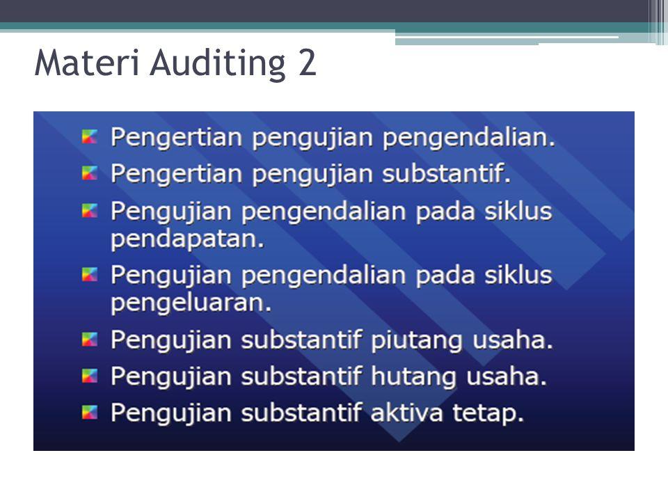 Materi Auditing 2