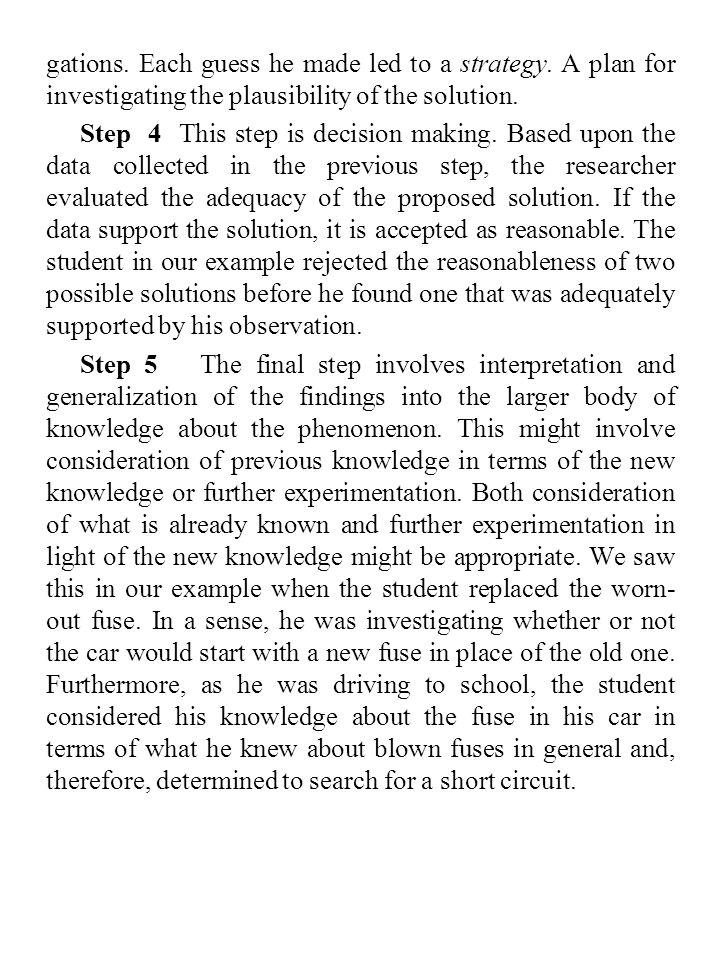 Metoda Ilmiah Masalah Albert Einstein dan L.