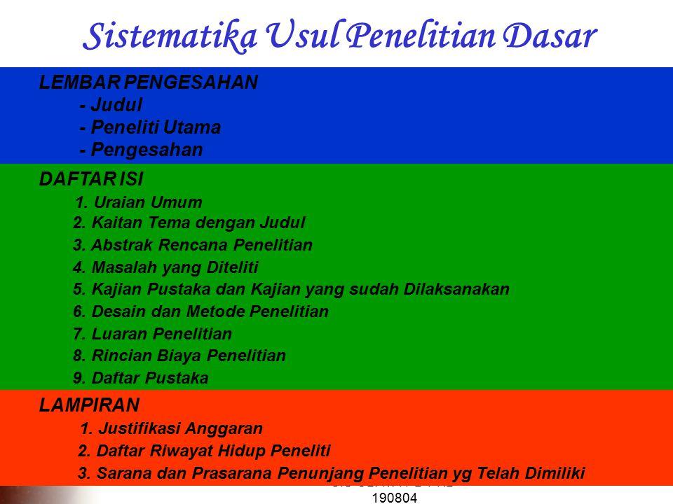 CIS-UBAYA-PD-PHB- 190804 DAFTAR ISI 1.Uraian Umum 2.
