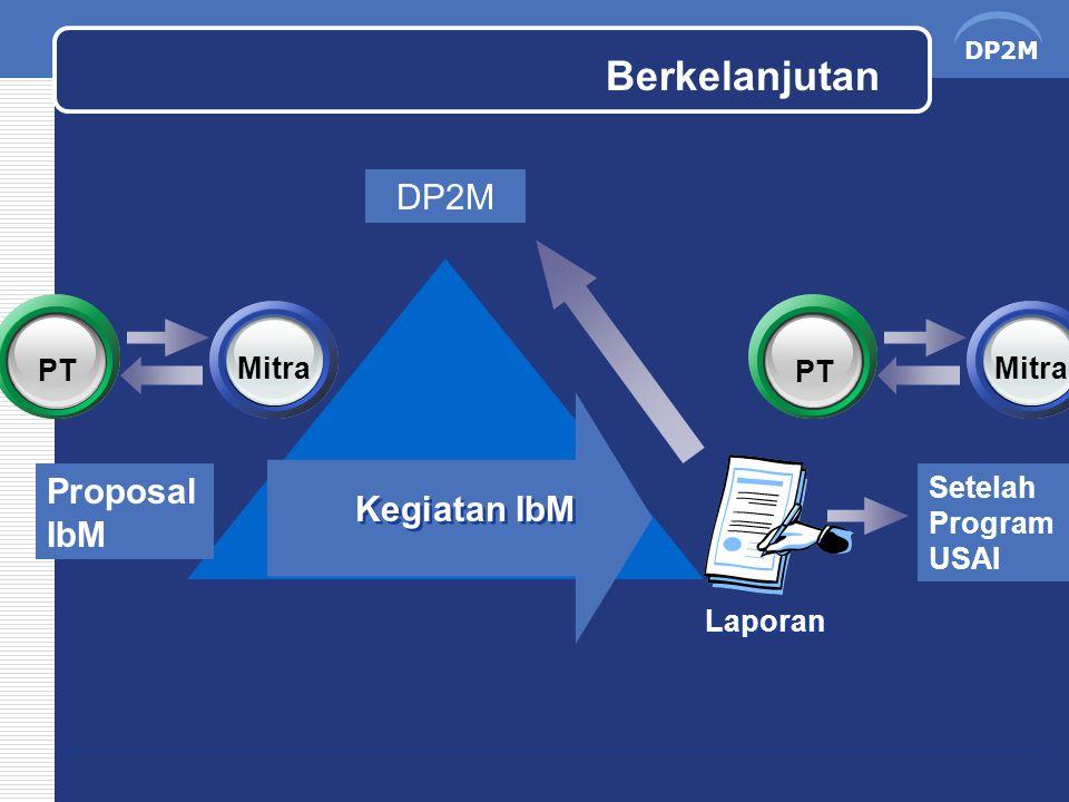 DP2M Laporan Kegiatan IbM Proposal IbM DP2M PT Mitra PT Mitra Setelah Program USAI Berkelanjutan