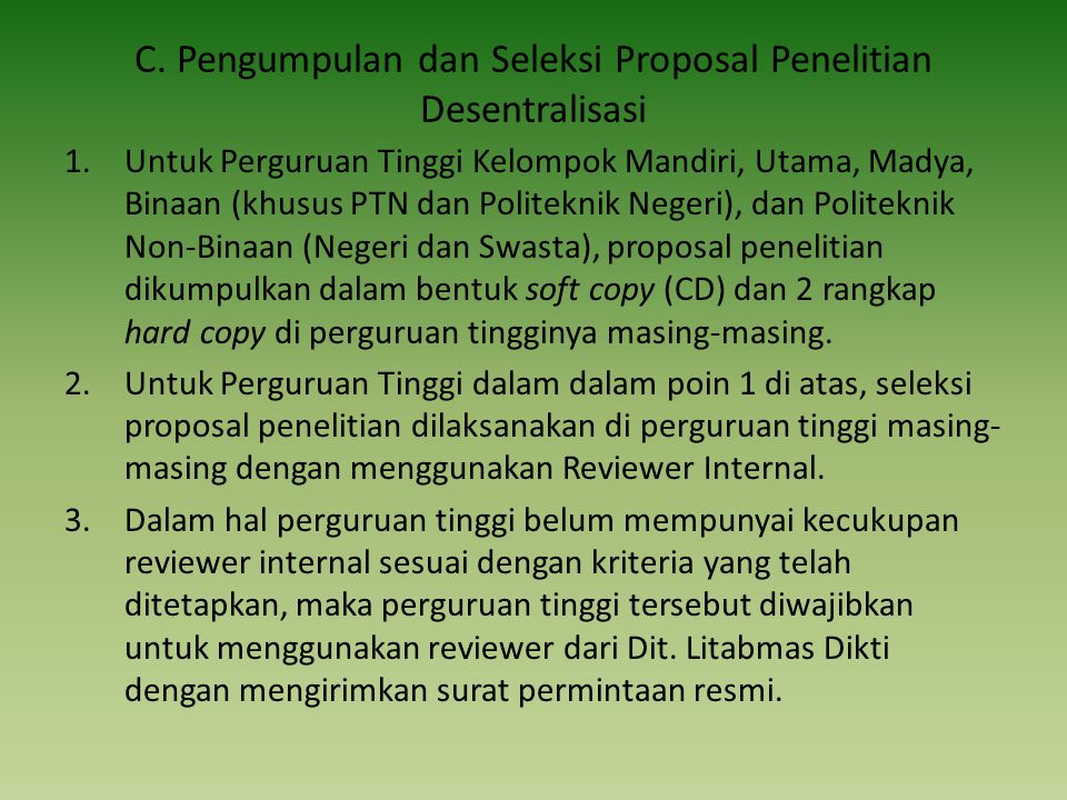 Hal-hal yang harus dijawab setelah selesai penulisan proposal 1.Apa kelebihan proposal ini 2.Apakah proposal ini bukan merupakan pengulangan dari penelitian lain.