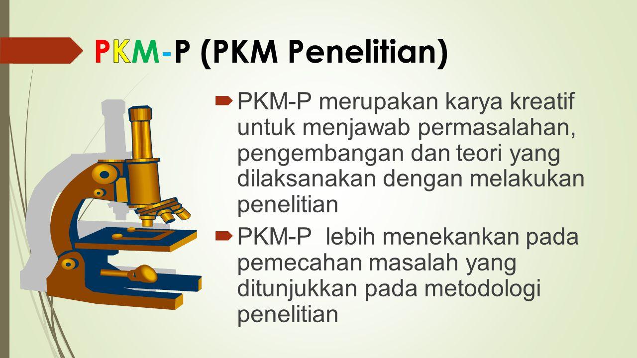 PKM-T merupakan kreativitas yang inovatif dalam menciptakan suatu karya teknologi (prototipe, model, peralatan, proses) yang dibutuhkan oleh suatu kelompok masyarakat (kelompok tani, industri kecil, dll)  PKM-T mewajibkan mahasiswa bertukar pikiran dengan pengusaha/pedagang kecil, koperasi atau kelompok produktif lain  Produk PKM-T merupakan solusi atas persoalan yang diprioritaskan mitra