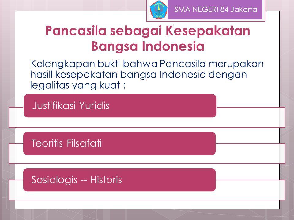 Pengertian Pancasila menurut : Terminologi Ir.