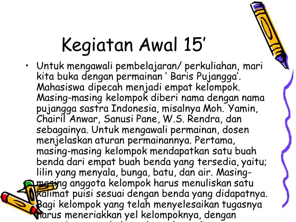 Memahami Puisi Indonesia Dalam puisi Indonesia pemahaman makna harus mengikutsertakan faktor di luar puisi, sebab puisi Indonesia memiliki makna yang spesifik yang hanya dapat ditafsirkan secara tepat melalui pengenalan penyairnya dan latar belakang yang mempengaruhi terciptanya karya puisi tersebut.
