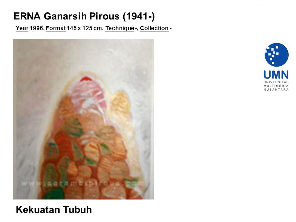 Year 1996, Format 145 x 125 cm, Technique -, Collection - Kekuatan Tubuh ERNA Ganarsih Pirous (1941-)