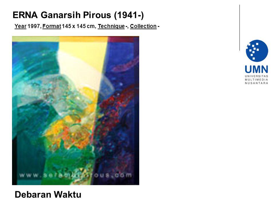 Year 1997, Format 145 x 145 cm, Technique -, Collection - Debaran Waktu ERNA Ganarsih Pirous (1941-)