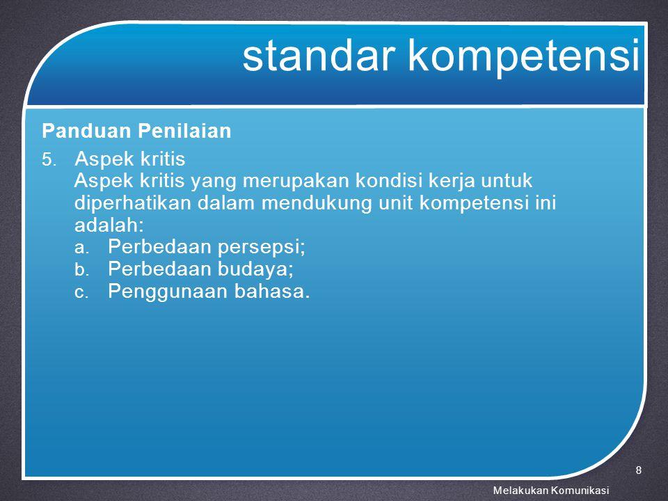 karakteristik komunikan 3.