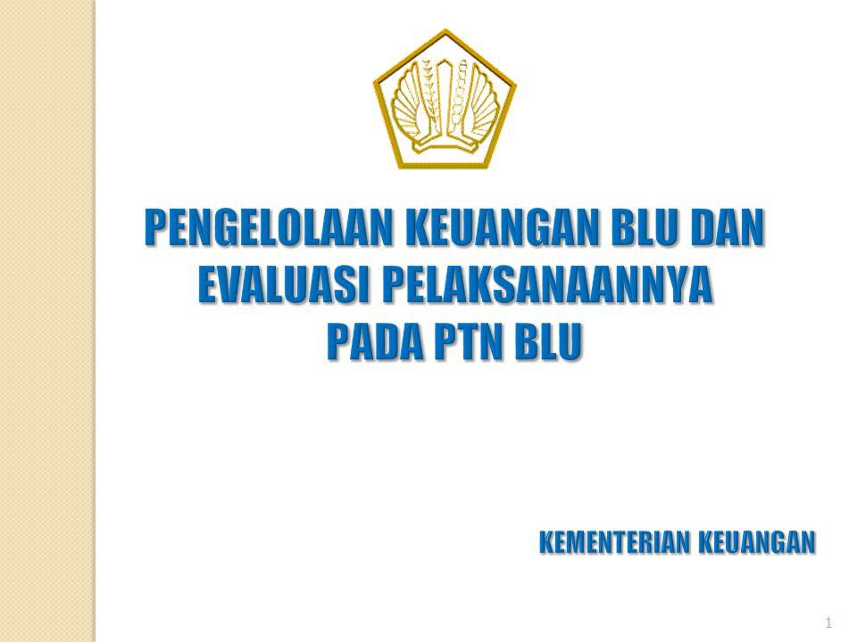 PERMASALAHAN UMUM RBA PTN BLU (1)  Masih terdapat PTN BLU yang belum menyampaikan RBA kepada Kementerian Keuangan dengan tepat waktu, yaitu 7 (tujuh) hari kerja setelah tahun anggaran yang bersangkutan dimulai.