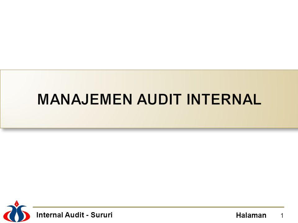 Internal Audit - Sururi Halaman 1