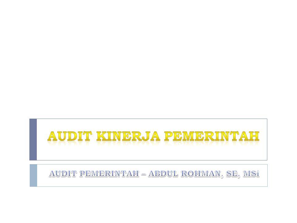  Karakteristik KKP yang baik adalah:  Kertas kerja pemeriksaan meliputi seluruh dokumen yang relevan yang diperoleh/dihasilkan selama pelaksanaan audit kinerja yang mendukung kesimpulan audit, rekomendasi yang diberikan dan bahwa pemeriksaan dilaksanakan sesuai dengan standar pemeriksaan yang berlaku.