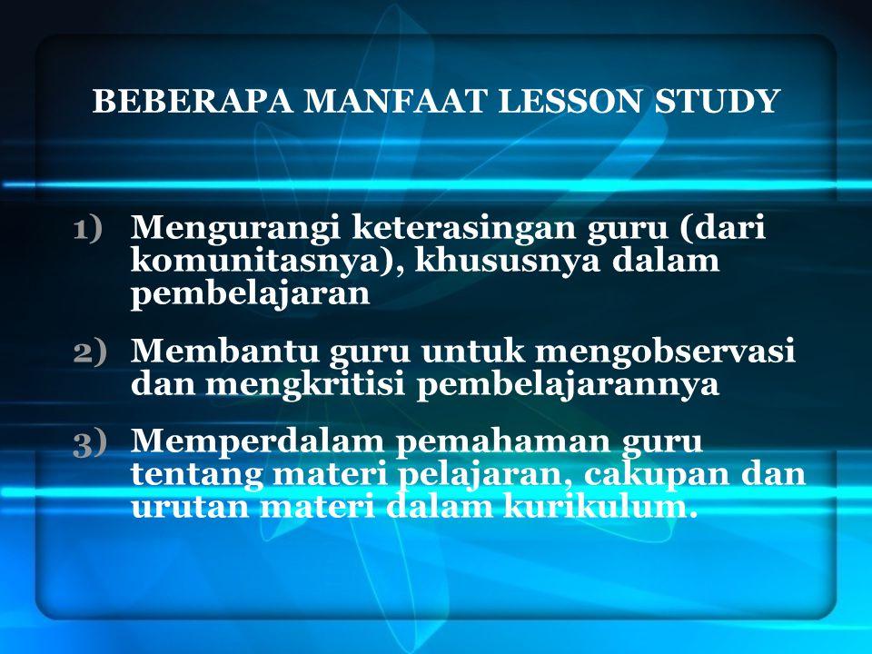 4.Membantu guru memfokuskan bantuannya pada seluruh aktivitas belajar siswa.