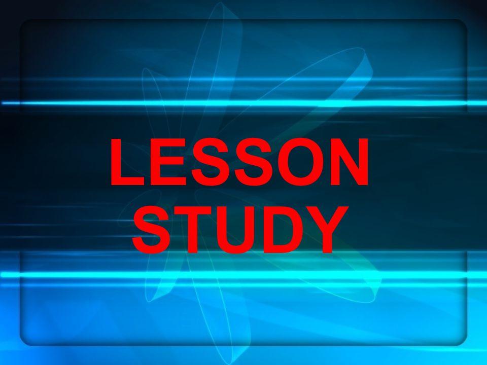 Apakah Lesson Study.