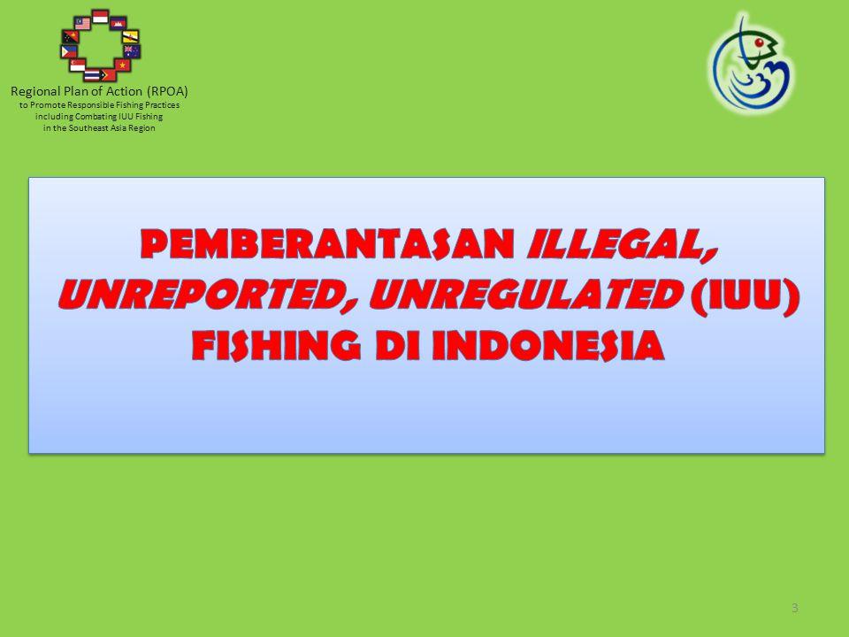  Illegal fishing, adalah kegiatan penangkapan ikan yang Dilakukana oleh orang atau KIA pada suatu perairan yang menjadi yurisdiksi suatu negara, tanpa izin dari negara tersebut dan/atau bertentangan dg.
