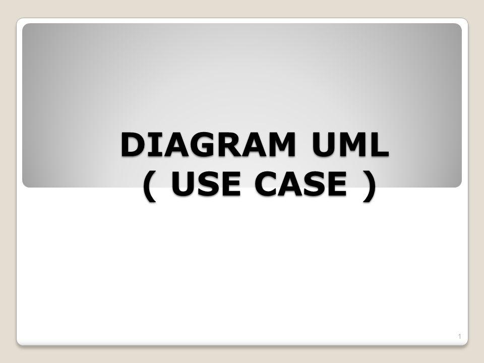DIAGRAM UML ( USE CASE ) 1
