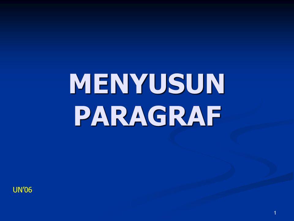 1 MENYUSUN PARAGRAF UN'06