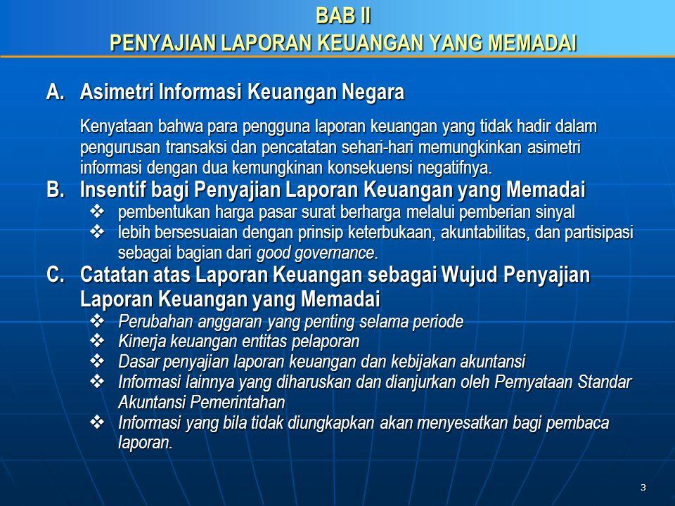 14 C.Penyusunan CaLK sesuai Pragaraf-paragraf PSAP 04 21.