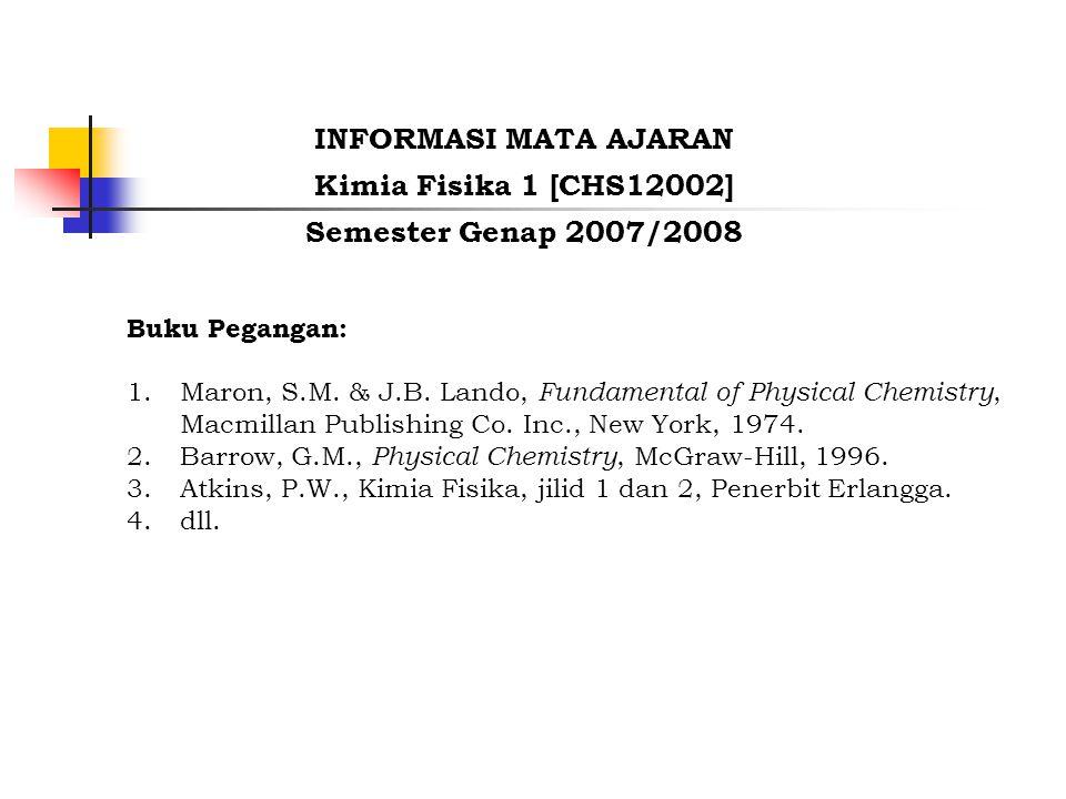 Buku Pegangan: 1.Maron, S.M. & J.B.