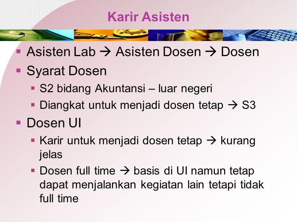 Agenda Karir Akuntansi 1 Kurikulum dan Kompetensi 2 3 Bagaimana Efektif Mengajarkan
