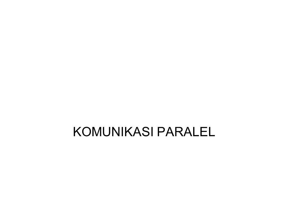 Konsep Komunikasi Paralel distandarisasi dengan IEEE.