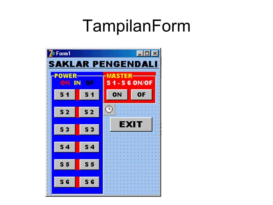 TampilanForm