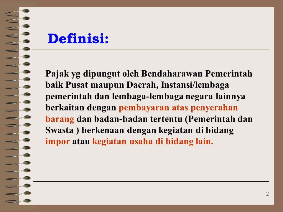 13 Soal PPh pasal 22 Bendaharawan PT.