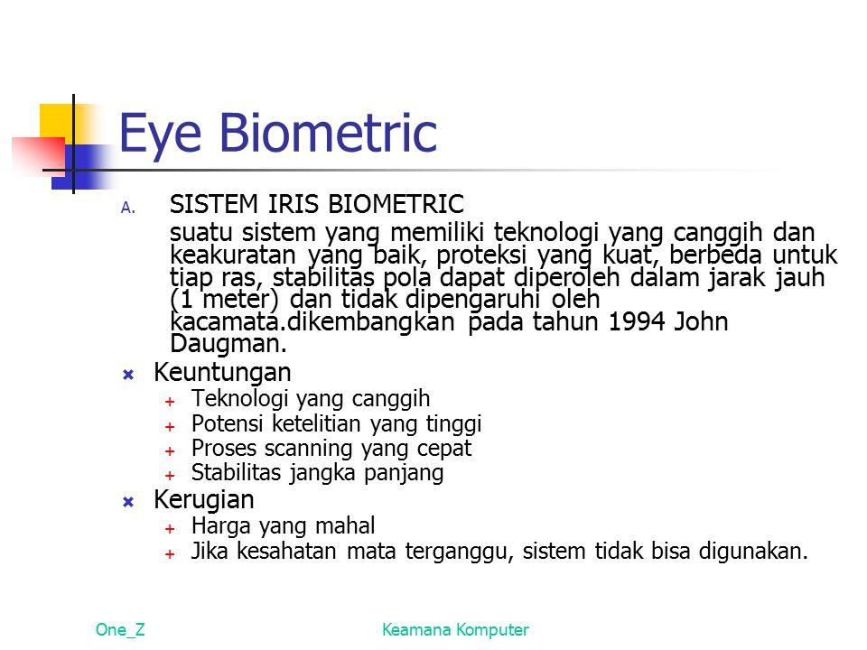 Eye Biometric A.