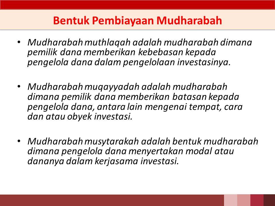 Definisi Mudharabah adalah akad kerjasama usaha antara dua pihak dimana pihak pertama (pemilik dana) menyediakan seluruh dana, sedangkan pihak kedua (pengelola dana) bertindak selaku pengelola, dan keuntungan dibagi di antara mereka sesuai kesepakatan sedangkan kerugian finansial hanya ditanggung oleh pemilik dana.