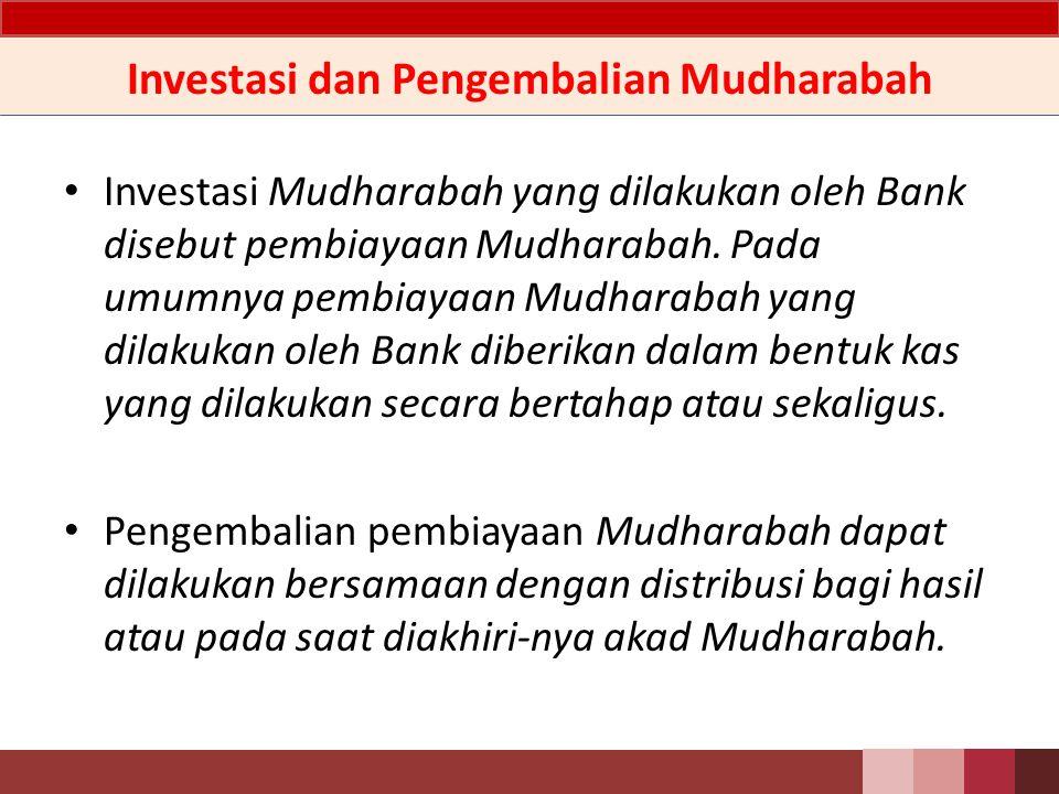 Jenis Mudharabah Mudharabah terdiri dari dua jenis, yaitu Mudharabah muthlaqah dan Mudharabah muqayyadah.