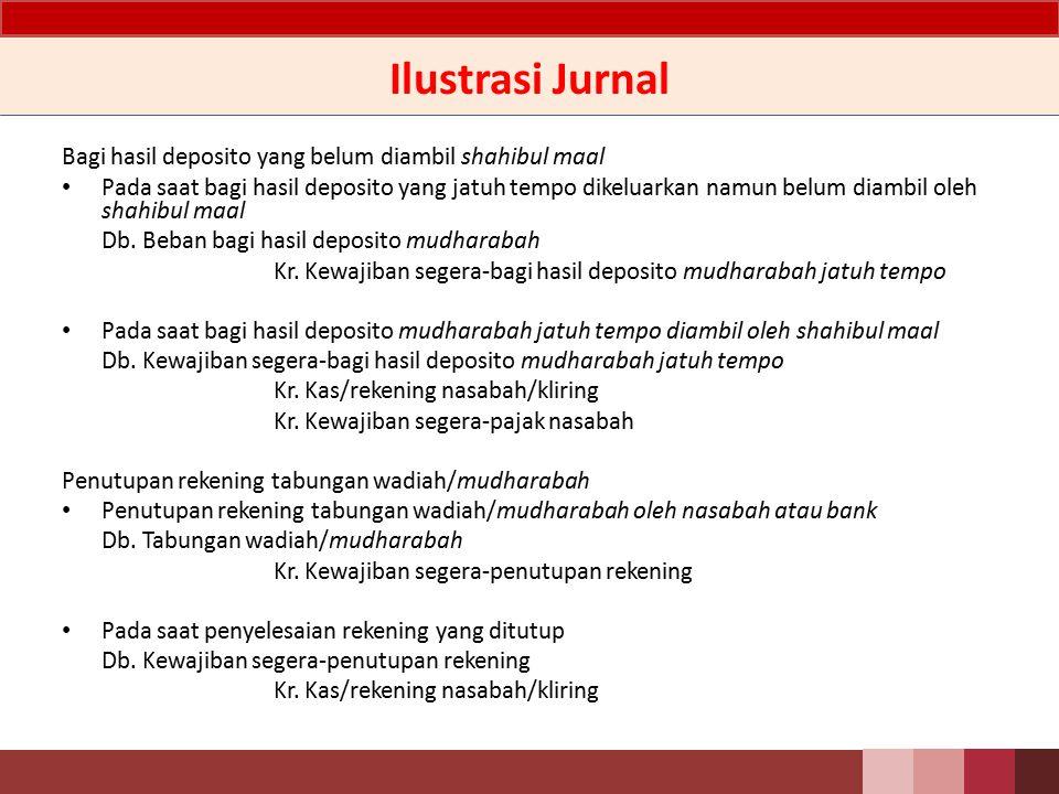Ilustrasi Jurnal Transfer kiriman uang: Pada saat diterima dana untuk kiriman uang ke pihak lain Db.