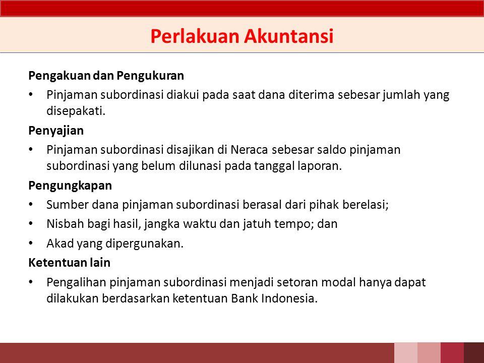 Ketentuan Menggunakan Mudharabah Mudharabah Muqayyadah harus memenuhi ketentuan sebagai berikut: – Adanya akad tertulis antara Bank dan pemberi pinjaman; – Pemilik dana memperoleh nisbah bagi hasil sesuai kesepakatan; – Mendapat persetujuan dari Bank Indonesia; – Tidak dijamin oleh bank yang bersangkutan dan disetor penuh; – Minimal berjangka waktu lima tahun; – Pelunasan sebelum jatuh tempo harus mendapat persetujuan Bank Indonesia dan dengan pelunasan tersebut permodalan Bank tetap sehat; dan – Hak tagihnya dalam hal likuidasi berlaku paling akhir (jika ada sisa hasil likuidasi).