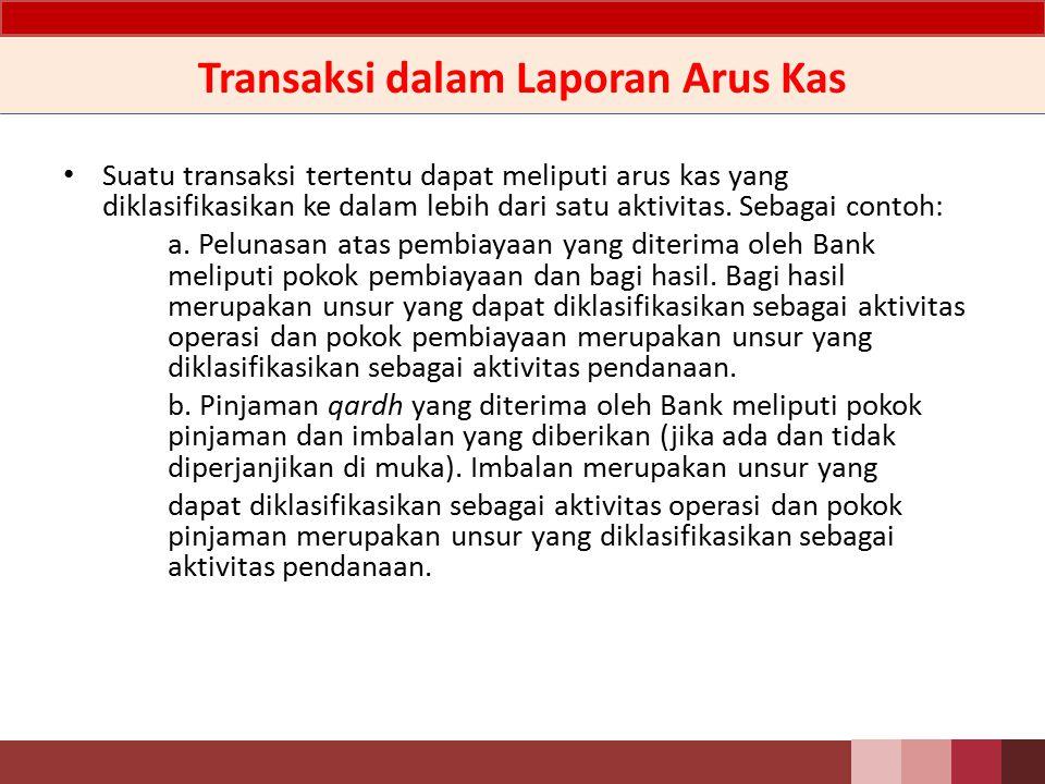 LAK - Penjelasan Kas terdiri atas: a.Kas dan kas dalam valuta asing; b.