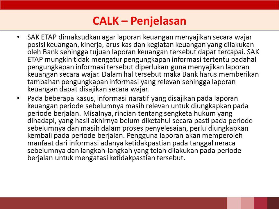 Dasar Pengaturan SAK ETAP Bab 8 tentang Catatan Atas Laporan Keuangan.