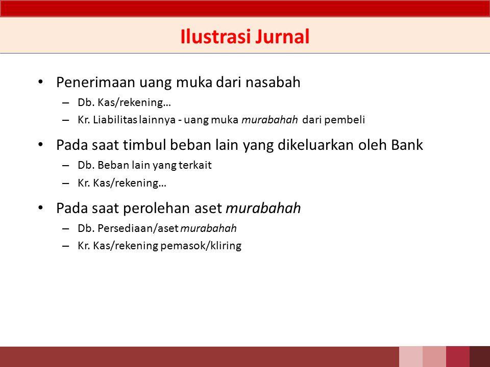 Murabahah – Pengungkapan Rincian piutang murabahah berdasarkan jumlah, jangka waktu, jenis valuta, kualitas piutang, jenis penggunaan, sektor ekonomi dan Cadangan Kerugian Penurunan Nilai.