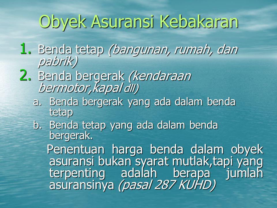 Ketentuan Asuransi Menurut Pasal 594 KUHD 1.1.