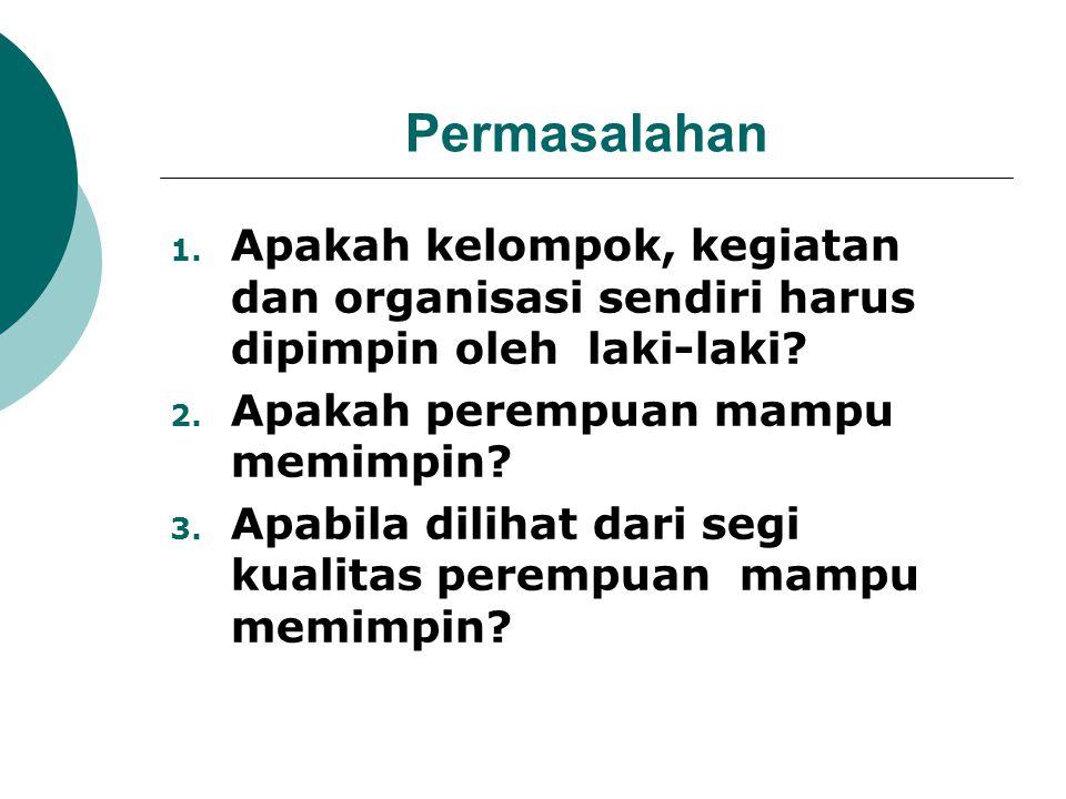 Ciri-Ciri Pemimpin Dalam Islam 1.Siddiq (benar) 2.