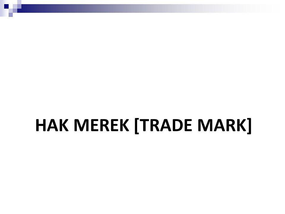 HAK MEREK [TRADE MARK]