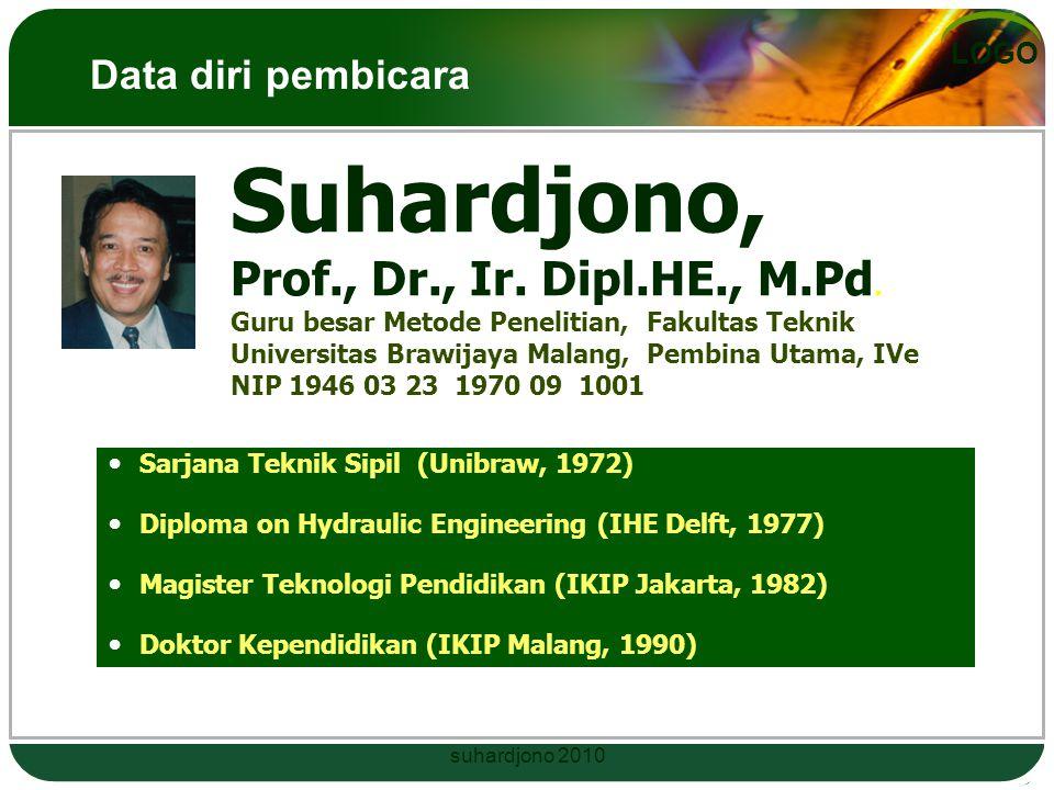 LOGO Suhardjono, Prof., Dr., Ir.Dipl.HE., M.Pd.