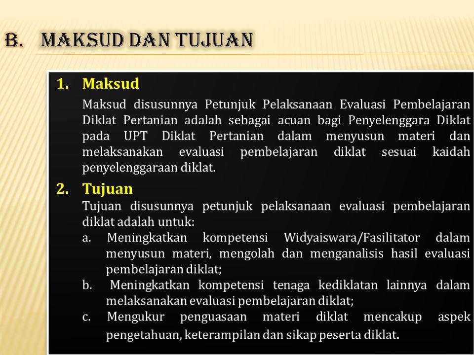 1.Jenis dan Prinsip Evaluasi Pembelajaran 2.