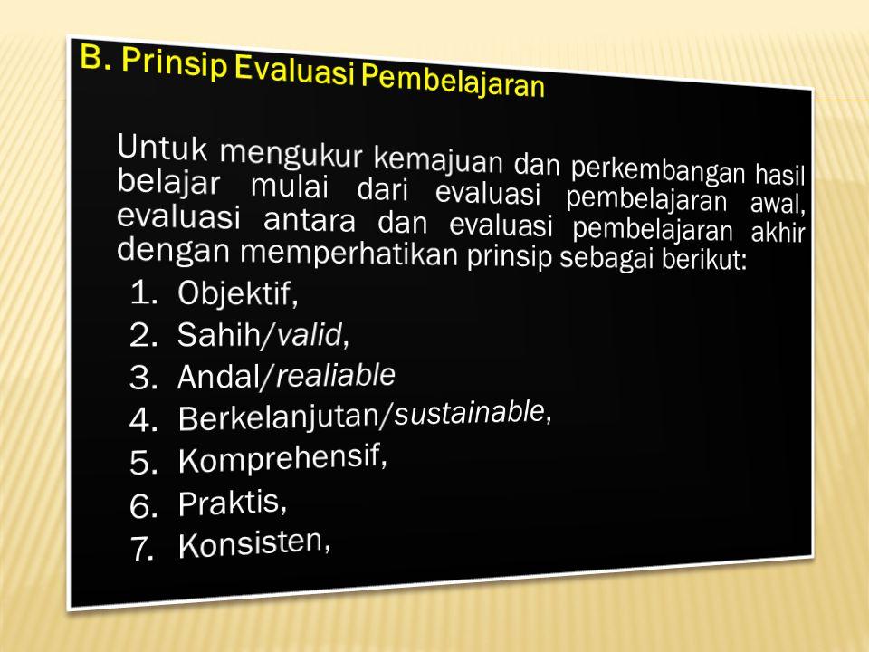 contoh : hasil Evaluasi Pembelajaran Diklat dari Program e-SIPP, untuk lebih jelasnya sebagai berikut :