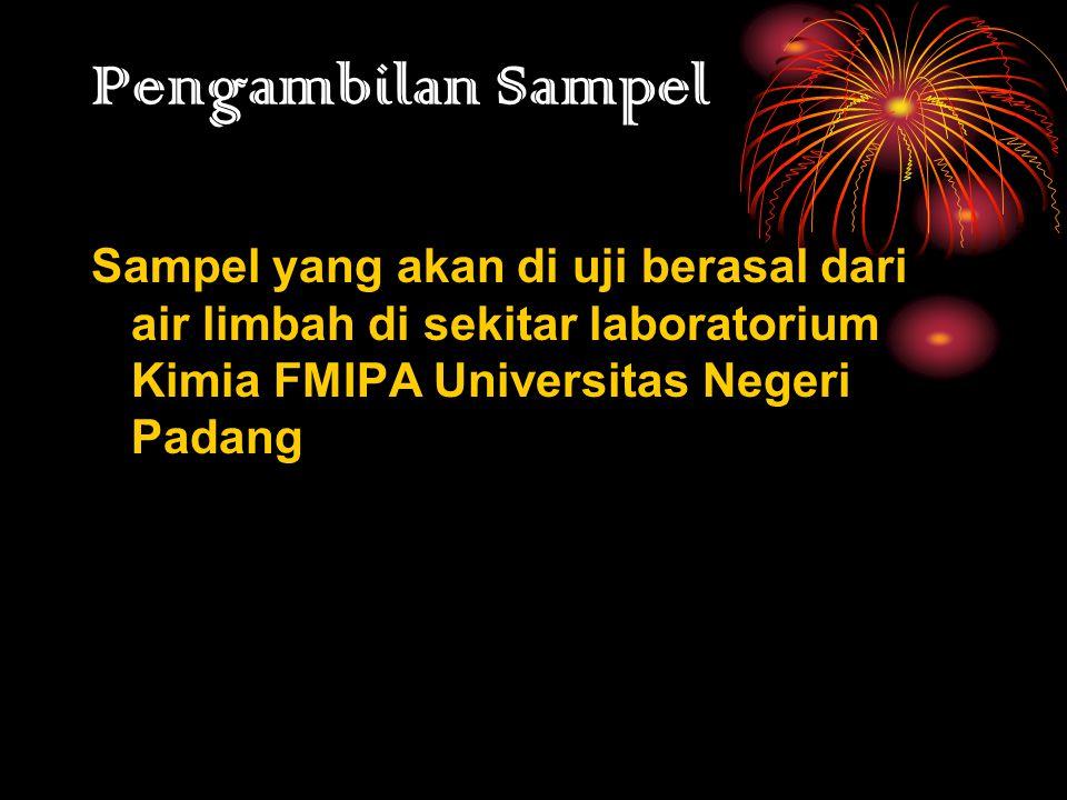 METODELOGI PENELITIAN Waktu dan Tempat Pengujian telah dilaksanakan di laboratorium Kimia Analitik FMIPA UNP, Pada tanggal 18 Mei 2010- Selesai