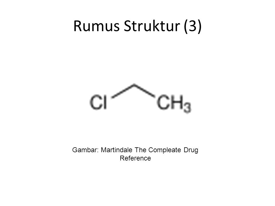 Rumus Struktur (3) Gambar: Martindale The Compleate Drug Reference
