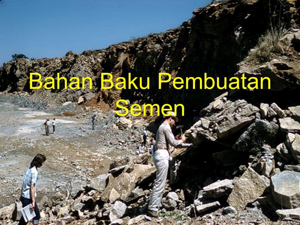 Bahan Baku Pembuatan Semen