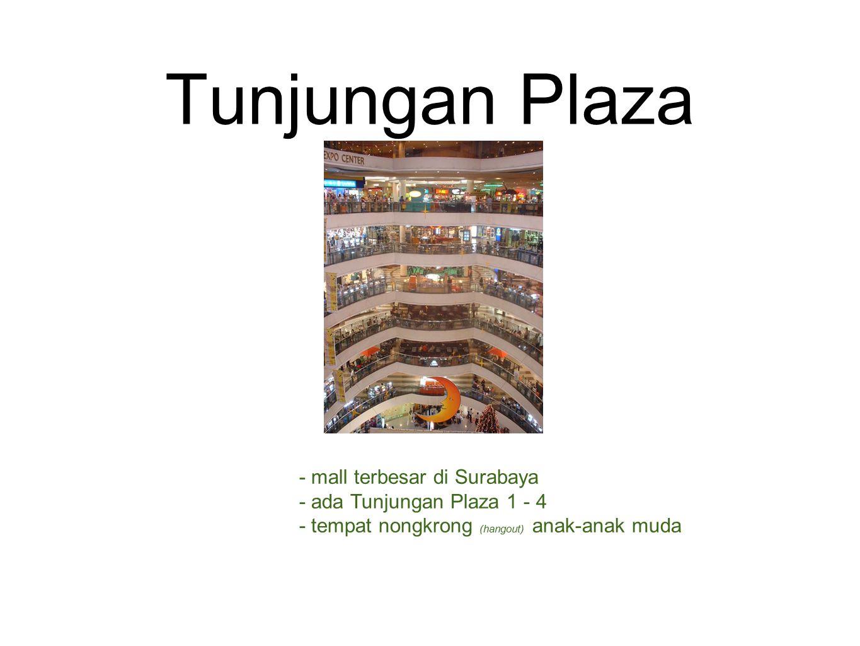 Tunjungan Plaza - mall terbesar di Surabaya - ada Tunjungan Plaza 1 - 4 - tempat nongkrong (hangout) anak-anak muda