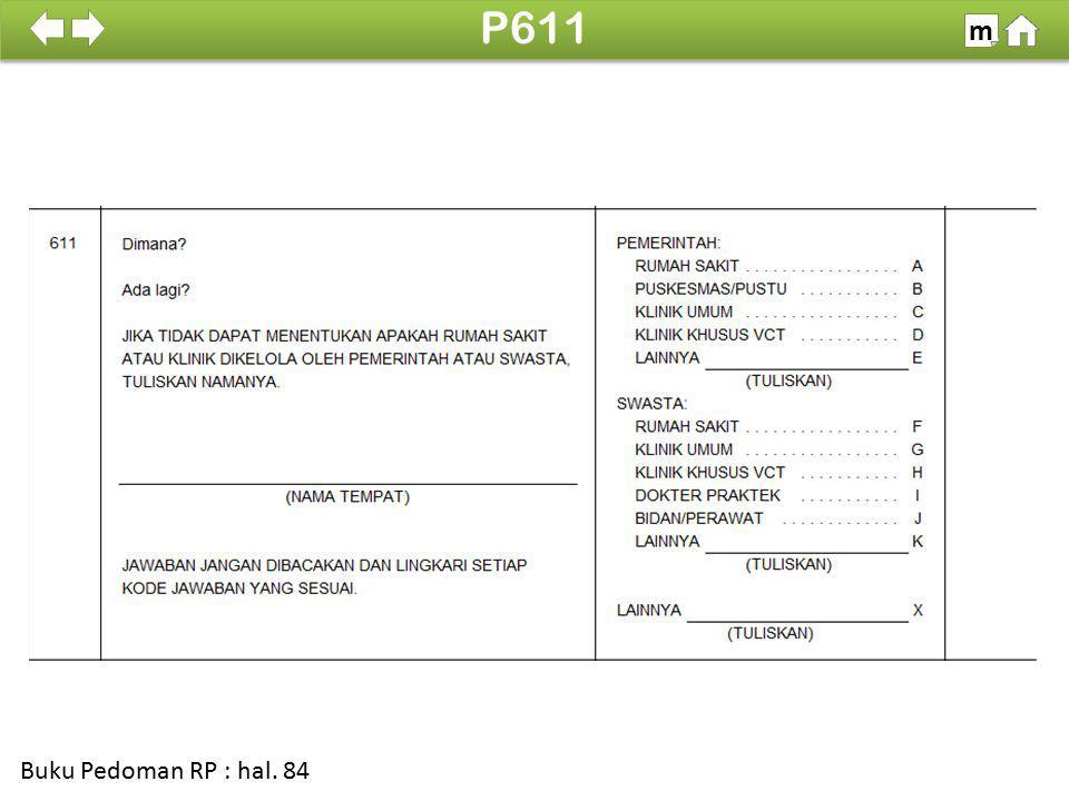 100% SDKI 2012 P611 m Buku Pedoman RP : hal. 84