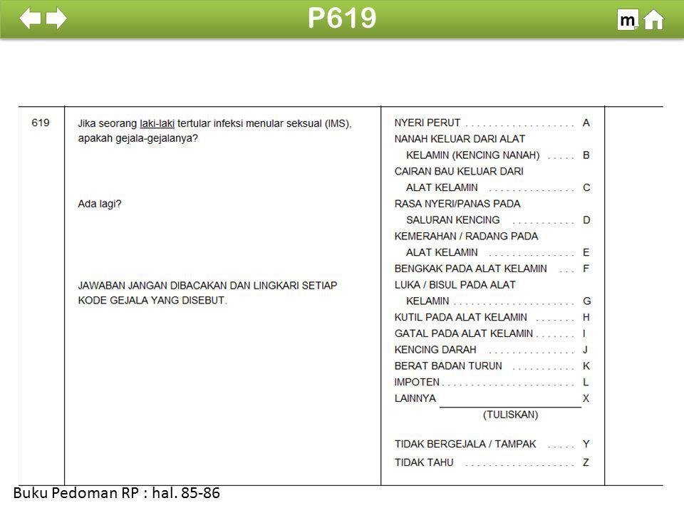 100% SDKI 2012 P619 m Buku Pedoman RP : hal. 85-86