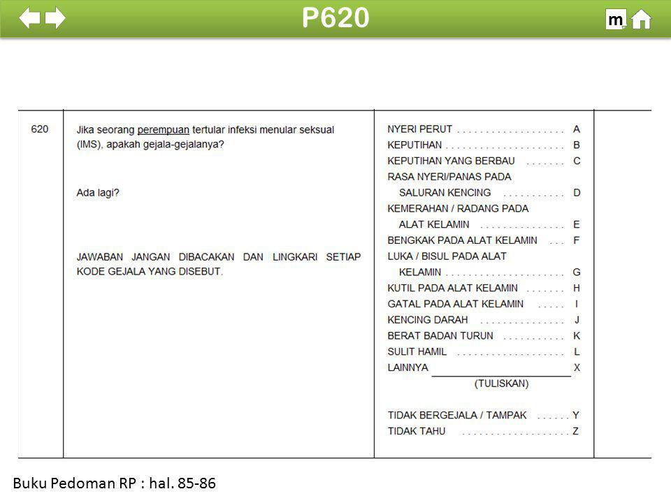 100% SDKI 2012 P620 m Buku Pedoman RP : hal. 85-86