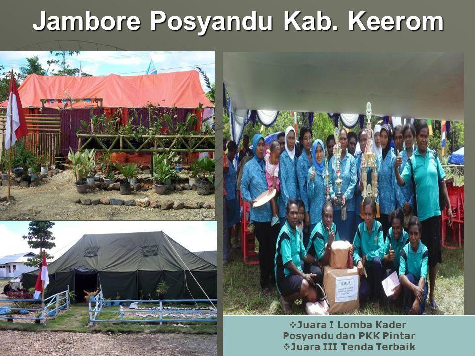 Jambore Posyandu Kab.