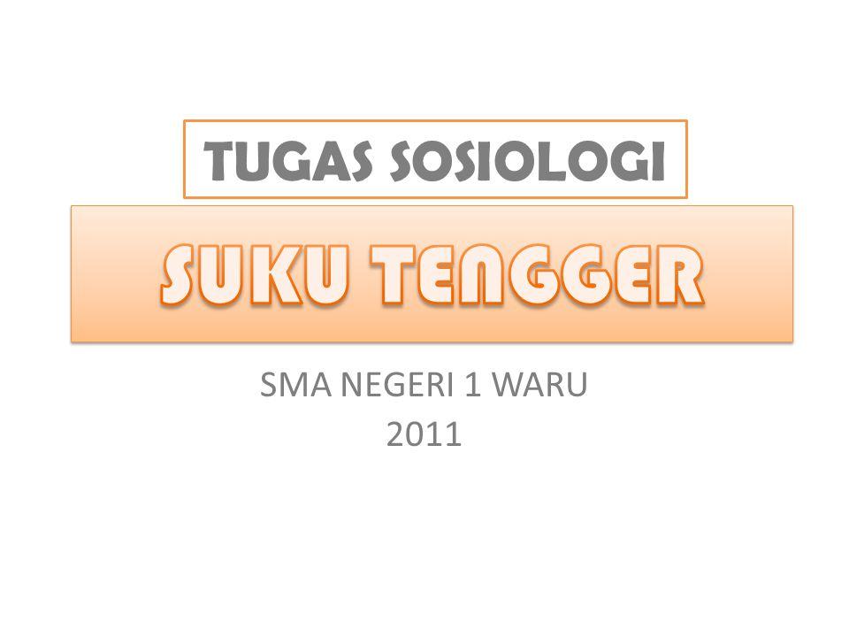 Disusun Oleh : SUKU TENGGER Sponsor : www.gudangblog.co.cc