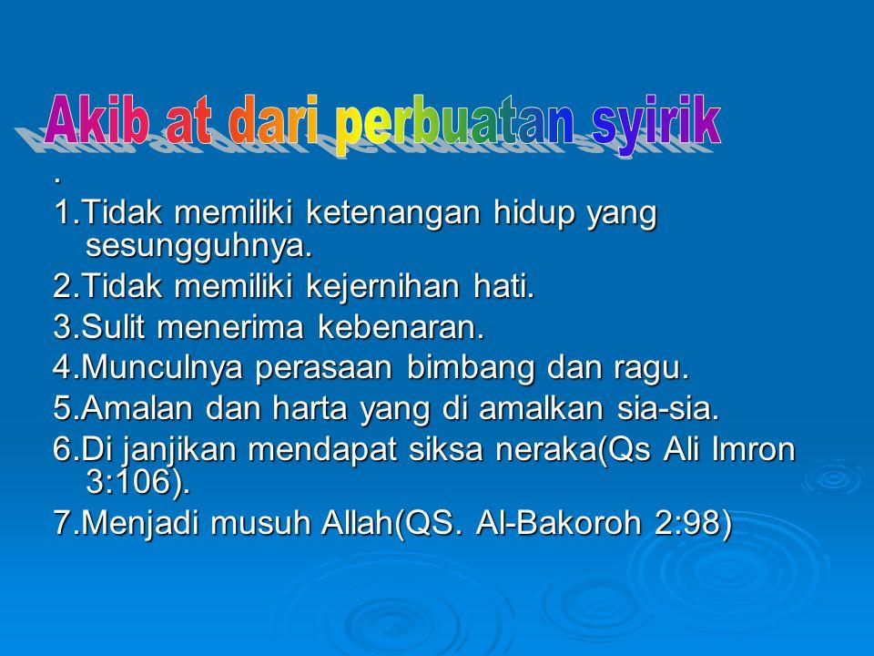 1.Memahami ajaran-ajaran prinsip dasar islam,agar dapat mengetahui hal-hal di larang dan yang di perbolehkan.